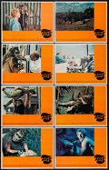 """Movie Posters:Science Fiction, Trog (Warner Brothers, 1970). Lobby Card Set of 8 (11"""" X 14"""").Science Fiction.. ... (Total: 8 Items)"""