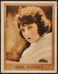 """Movie Posters:Comedy, Bebe Daniels (Realart, Early 1920s). Personality Poster (22"""" X28""""). Comedy.. ..."""