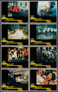 "Movie Posters:James Bond, Diamonds are Forever (United Artists, 1971). Lobby Card Set of 8(11"" X 14""). James Bond.. ..."