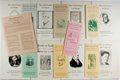 Books:Books about Books, [Bookseller's Catalogues]. Lot of Nine Catalogues and Nine Lists for Meyer Boswell Books, Inc., San Francisco. [Various Date...