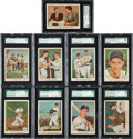 Baseball Cards:Sets, 1959 Fleer Ted Williams Complete Set (80) - Every Card Graded SGC96 Mint 9! ...