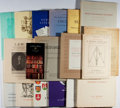 Books:Books about Books, [Bookseller's Catalogues]. Lot of Nineteen Catalogues and Lists for H. P. Kraus, New York. [Various Dates]. In original wrap...