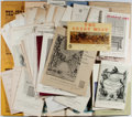 Books:Books about Books, [Bookseller's Catalogues]. Lot of Forty Catalogues and Lists for Zeitlin & Ver Brugge, Los Angeles. [Various Dates]. In orig...