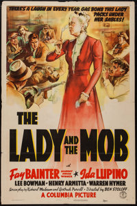 """The Lady and the Mob (Columbia, 1939). One Sheet (27"""" X 41""""). Comedy"""