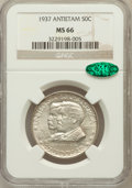 Commemorative Silver: , 1937 50C Antietam MS66 NGC. CAC. NGC Census: (716/177). PCGSPopulation (1211/258). Mintage: 18,028. Numismedia Wsl. Price ...