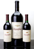 Domestic Cabernet Sauvignon/Meritage, Franciscan Cabernet Sauvignon. Magnificat. 1997 2-2000 NapaValley Auction Bottle (2). 1998 2001 Napa Valley Auc... (Total: 2Btls. & 1 D-Mag. )