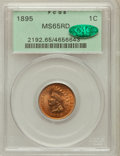 Indian Cents: , 1895 1C MS65 Red PCGS. CAC. PCGS Population (114/38). NGC Census:(184/82). Mintage: 38,343,636. Numismedia Wsl. Price for ...