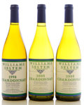 Domestic Chardonnay, Williams Selyem Chardonnay. Allen Vineyard. 1998 Bottle (1). 2005 Bottle (2). ... (Total: 3 Btls. )