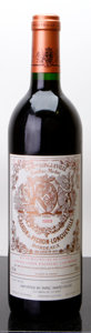 Red Bordeaux, Chateau Pichon Baron 1989 . Pauillac. lbsl. Bottle (1). ...(Total: 1 Btl. )