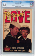Golden Age (1938-1955):Romance, Personal Love #16 (Famous Funnies, 1952) CGC FN- 5.5 Off-whitepages....