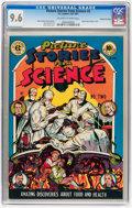 Golden Age (1938-1955):Non-Fiction, Picture Stories from Science #2 Gaines File pedigree 4/11 (EC,1947) CGC NM+ 9.6 Off-white to white pages....