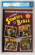 Golden Age (1938-1955):Religious, Picture Stories from the Bible: Complete New Testament Edition (EC,1946) CGC NM+ 9.6 Off-white to white pages....