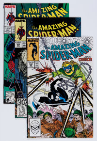 The Amazing Spider-Man Todd McFarlane Group (Marvel, 1987-89) Condition: Average NM-.... (Total: 26 Comic Books)