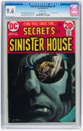 Bronze Age (1970-1979):Horror, Secrets of Sinister House #9 (DC, 1973) CGC NM+ 9.6 White pages....