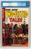 Golden Age (1938-1955):War, Two-Fisted Tales #37 (EC, 1954) CGC NM 9.4 Off-white to whitepages....