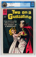 Silver Age (1956-1969):Horror, Movie Classics: Two On a Guillotine #nn Pacific Coast pedigree(Dell, 1965) CGC NM+ 9.6 White pages....