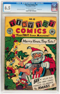 Golden Age (1938-1955):Funny Animal, Tiny Tot Comics #10 (EC, 1947) CGC FN+ 6.5 Off-white to whitepages....