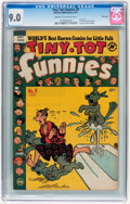 Golden Age (1938-1955):Cartoon Character, Tiny Tot Funnies #9 File Copy (EC, 1951) CGC VF/NM 9.0 Cream to off-white pages....