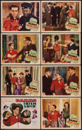 "Movie Posters:Action, Irish Luck (Monogram, 1939). Lobby Card Set of 8 (11"" X 14"").Action.. ... (Total: 8 Items)"
