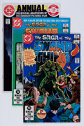 Modern Age (1980-Present):Superhero, Swamp Thing Group (DC, 1982-86) Condition: Average VF/NM....(Total: 58 Comic Books)