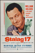"Movie Posters:War, Stalag 17 (Paramount, R-1959). One Sheet (27"" X 41""). War.. ..."