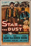 """Movie Posters:Western, Star in the Dust (Universal International, 1956). One Sheet (27"""" X 41""""). Western.. ..."""