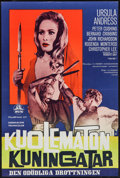 "Movie Posters:Fantasy, She (MGM, 1965). Swedish Poster (15.75"" X 23.5""). Fantasy.. ..."