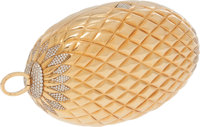 Gucci Stunning Solid 18K Yellow Gold & Diamond Minaudiere Evening Bag with Interchangeable Multicolor Tassels