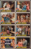 "Movie Posters:Adventure, Mutiny on the Blackhawk (Universal, 1939). Lobby Card Set of 8 (11""X 14""). Adventure.. ... (Total: 8 Items)"
