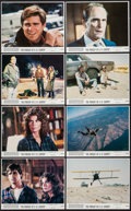 """Movie Posters:Adventure, The Pursuit of D.B. Cooper & Other Lot (Universal, 1981). MiniLobby Card Sets of 8 (2) (11"""" X 14""""). Adventure.. ... (Total: 16Items)"""