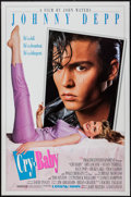 """Movie Posters:Comedy, Cry-Baby (Universal, 1990). One Sheet (27"""" X 41"""") DS Advance. Comedy.. ..."""