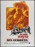 "Movie Posters:Western, The Cowboys (Warner Brothers, 1972). French Grande (47"" X 63"").Western.. ..."