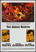 """Movie Posters:War, The Green Berets (Warner Brothers, 1968). One Sheet (27"""" X 41"""").War.. ..."""