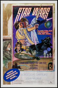 """Star Wars (20th Century Fox, 1978). Soundtrack One Sheet (27"""" X 41"""") Style D. Science Fiction"""
