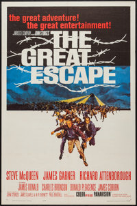 """The Great Escape (United Artists, 1963). One Sheet (27"""" X 41""""). War"""