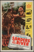 "Movie Posters:Adventure, Sanders of the River (Film Classics, R-1947). One Sheet (27"" X41""). Adventure.. ..."