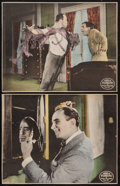 "Movie Posters:Action, When the Clouds Roll By (United Artists, 1919). Trimmed Lobby Cards (2) (10.25"" X 13""). Action.. ... (Total: 2 Items)"