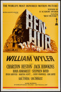 "Movie Posters:Academy Award Winners, Ben-Hur (MGM, R-1969). One Sheet (27"" X 41""). Academy AwardWinners.. ..."