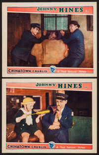 """Chinatown Charlie (First National, 1928). Lobby Cards (2) (11"""" X 14""""). Comedy. ... (Total: 2 Items)"""