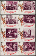 "Movie Posters:Adventure, Tarzan and the Great River (Paramount, 1967). Lobby Card Set of 8(11"" X 14""). Adventure.. ... (Total: 8 Items)"
