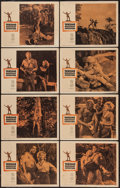 "Movie Posters:Adventure, Tarzan's Greatest Adventure (Paramount, 1959). Lobby Card Set of 8(11"" X 14""). Adventure.. ... (Total: 8 Items)"
