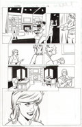 Original Comic Art:Panel Page, Mike Allred X-Statix BANNED VERSION PRINCESS DI ANOTHER DAY #13 Page 12 Pa