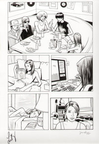 Jim Rugg The Guild #1 Page 2 Panel Page Original Art (Dark Horse, 2010)