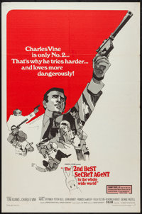"""The 2nd Best Secret Agent in the Whole Wide World & Other Lot(Embassy, 1965). One Sheets (2) (27"""" X 41"""")..."""