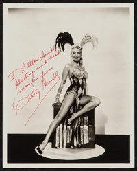 "Betty Grable in Three for the Show (Columbia, 1954). Autographed Portrait Photo (8"" X 10""). Miscellaneous"