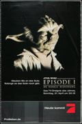 """Movie Posters:Science Fiction, Star Wars: Episode I - The Phantom Menace (20th Century Fox, 2002). German Television Printer's Proof Posters (3) (47"""" X 69""""... (Total: 3 Items)"""