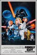 "Movie Posters:Animation, Family Guy: Blue Harvest and Other Lot (20th Century Fox, 2007). Poster (40"" X 60"") and 34"" X 47""). Animation.. ... (Total: 2 Items)"