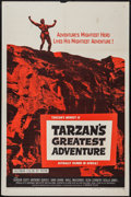 "Movie Posters:Adventure, Tarzan's Greatest Adventure & Other Lot (Paramount, 1959). OneSheets (2) (27"" X 41""). Adventure.. ... (Total: 2 Items)"