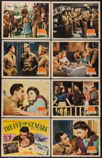 "The Eve of St. Mark (20th Century Fox, 1944). Lobby Card Set of 8 (11"" X 14""). War. ... (Total: 8 Items)"