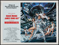 "Movie Posters:James Bond, Moonraker (United Artists, 1979). Half Sheet (22"" X 28""). JamesBond.. ..."